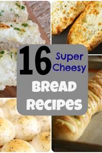 16 Super Cheesy Bread Recipes