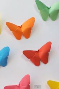 DIY crafts: Paper BUTTERFLIES (very EASY)