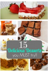 15 Delicious Dessert Recipes You Must Try