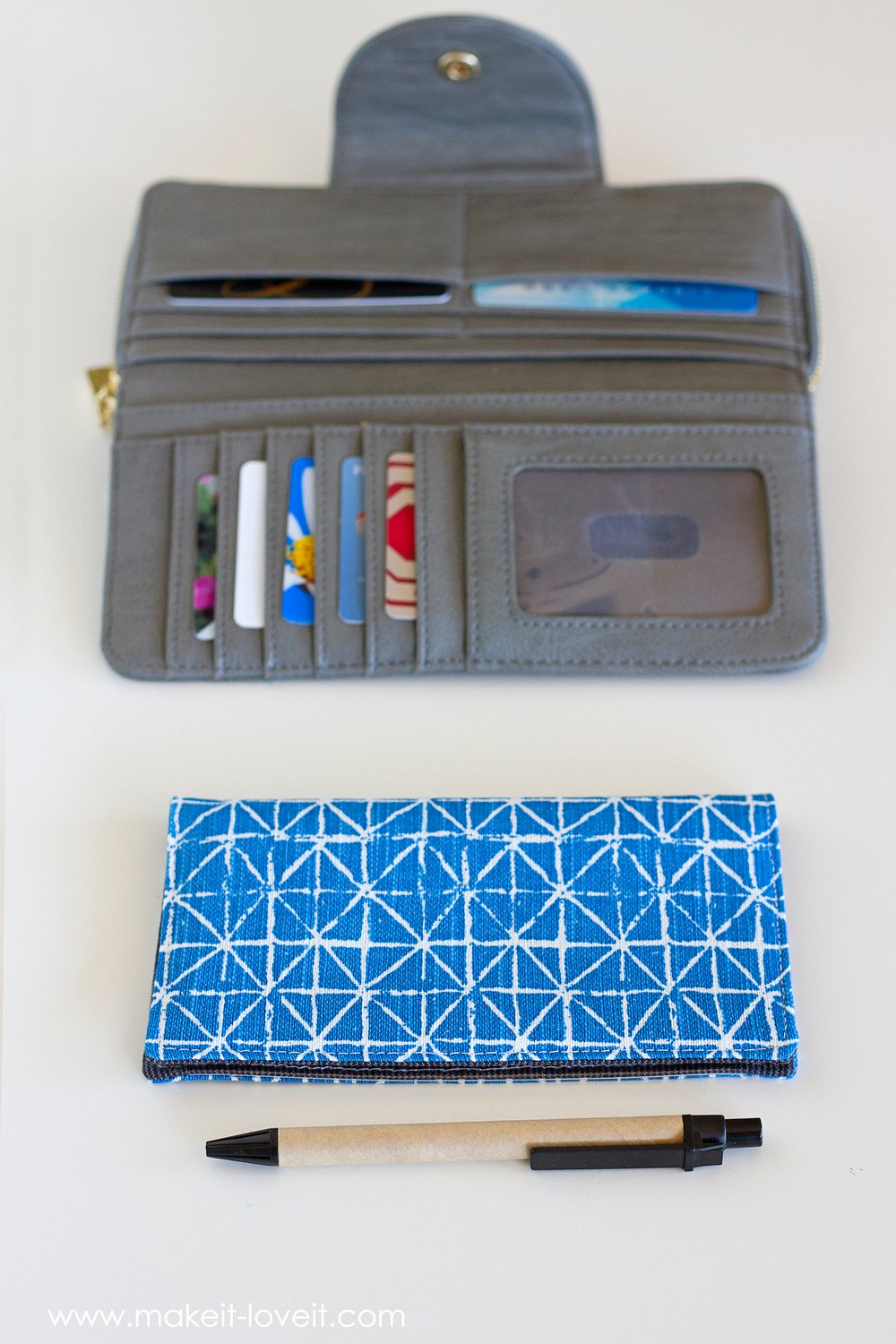 Fabric Checkbook Cover (with duplicate check divider)