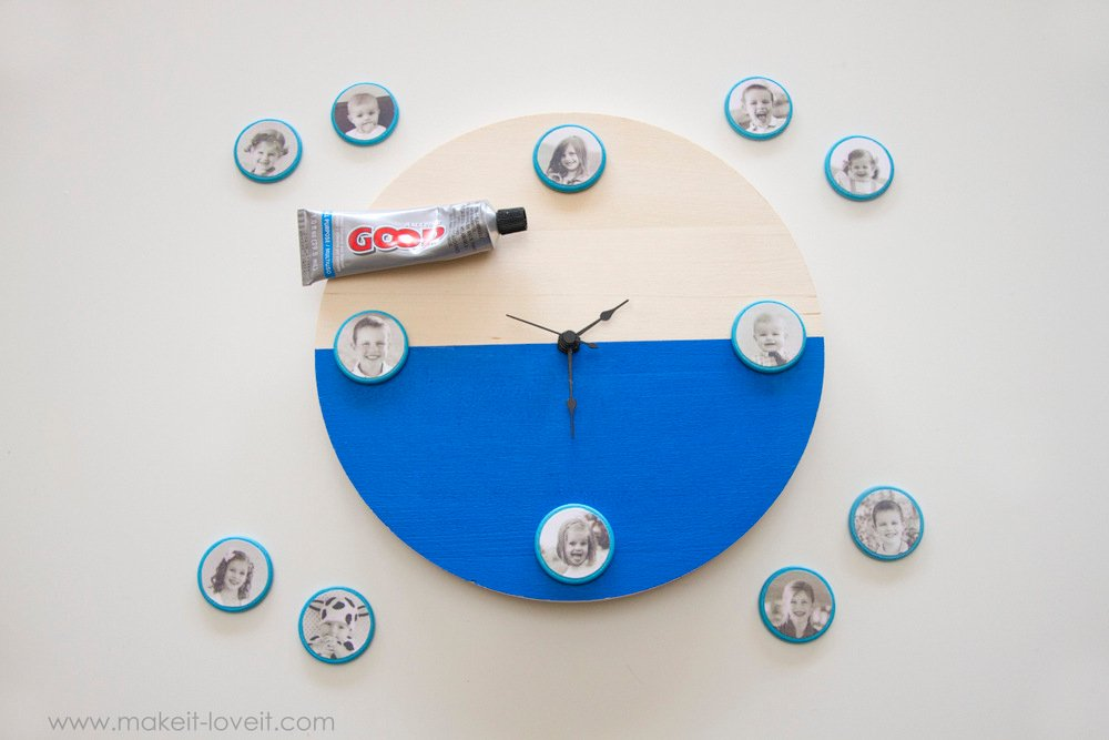 diy-fathers-day-portrait clock-11