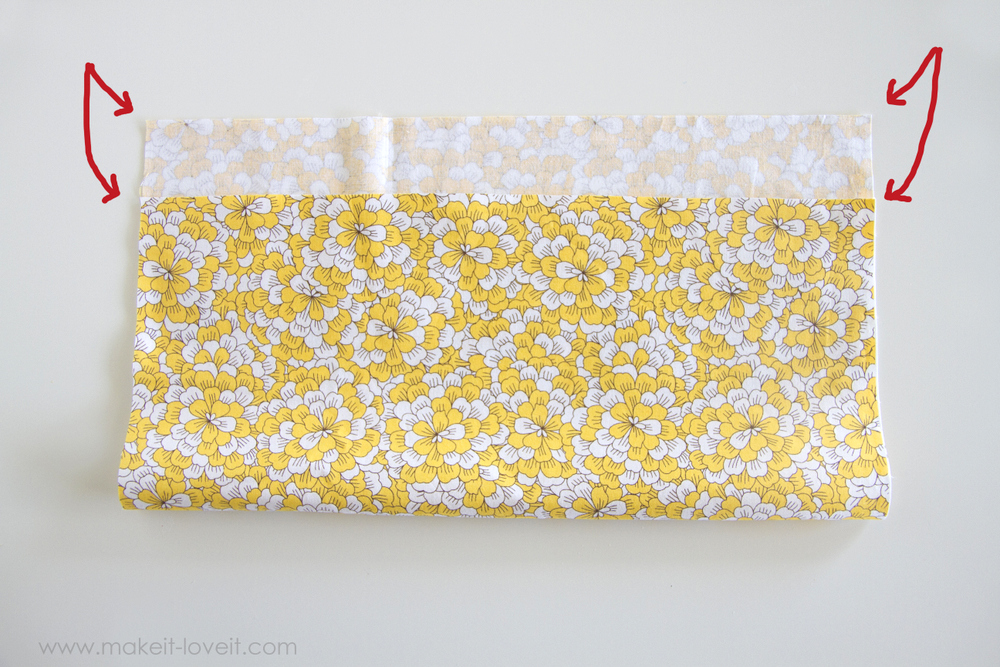 How to cut Fabric Perfectly STRAIGHT...and square it up! | via Make It and Love It