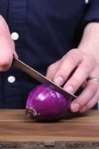 A Fun New Way To Chop Onions Using Crystals