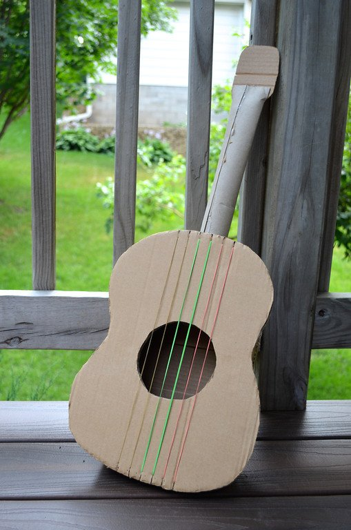 10 Ways To Make A Cardboard Guitar Make It And Love It