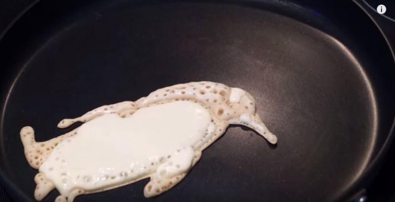 penguin pancakes