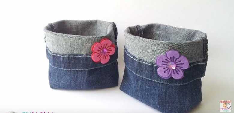 recycle bag jeans