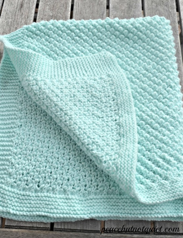 Free Crochet Popcorn Baby Blanket Pattern : 27 BEGINNER Knitting and Crochet Tutorials