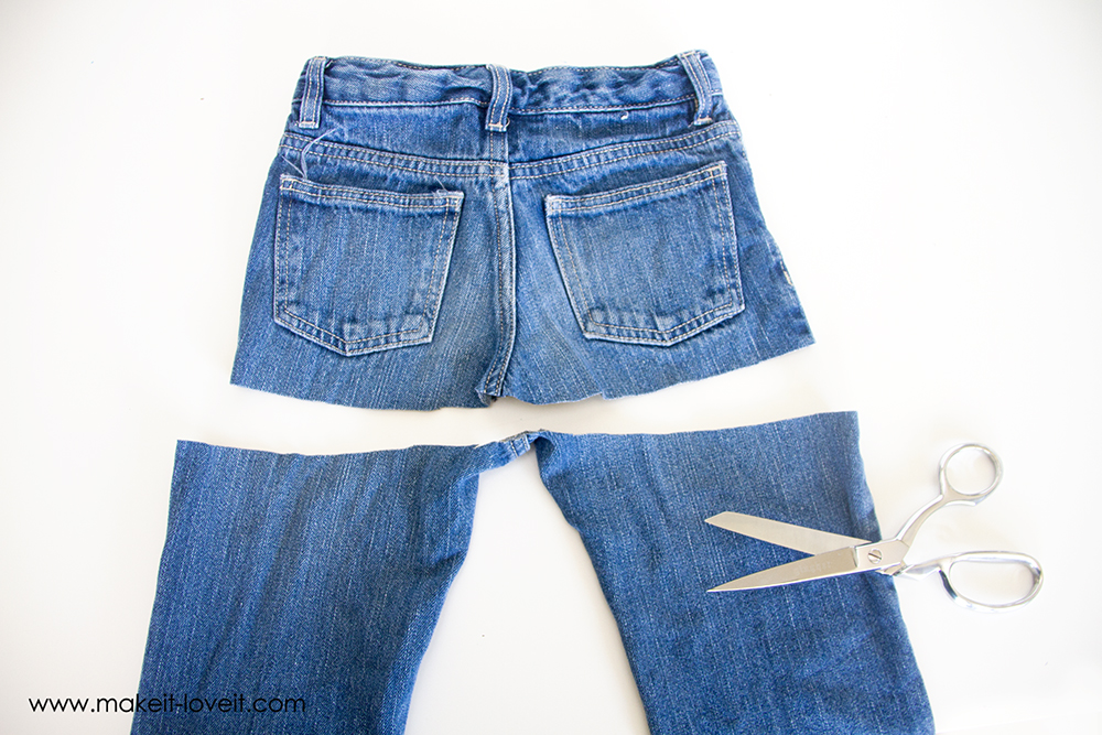 turn old jeans into a maxi skirt (10)