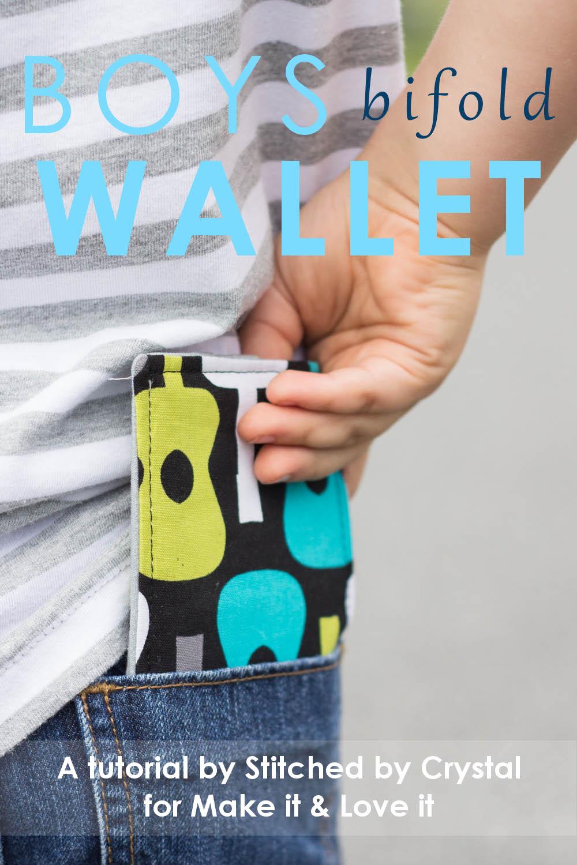 Boys Bi-fold Wallet