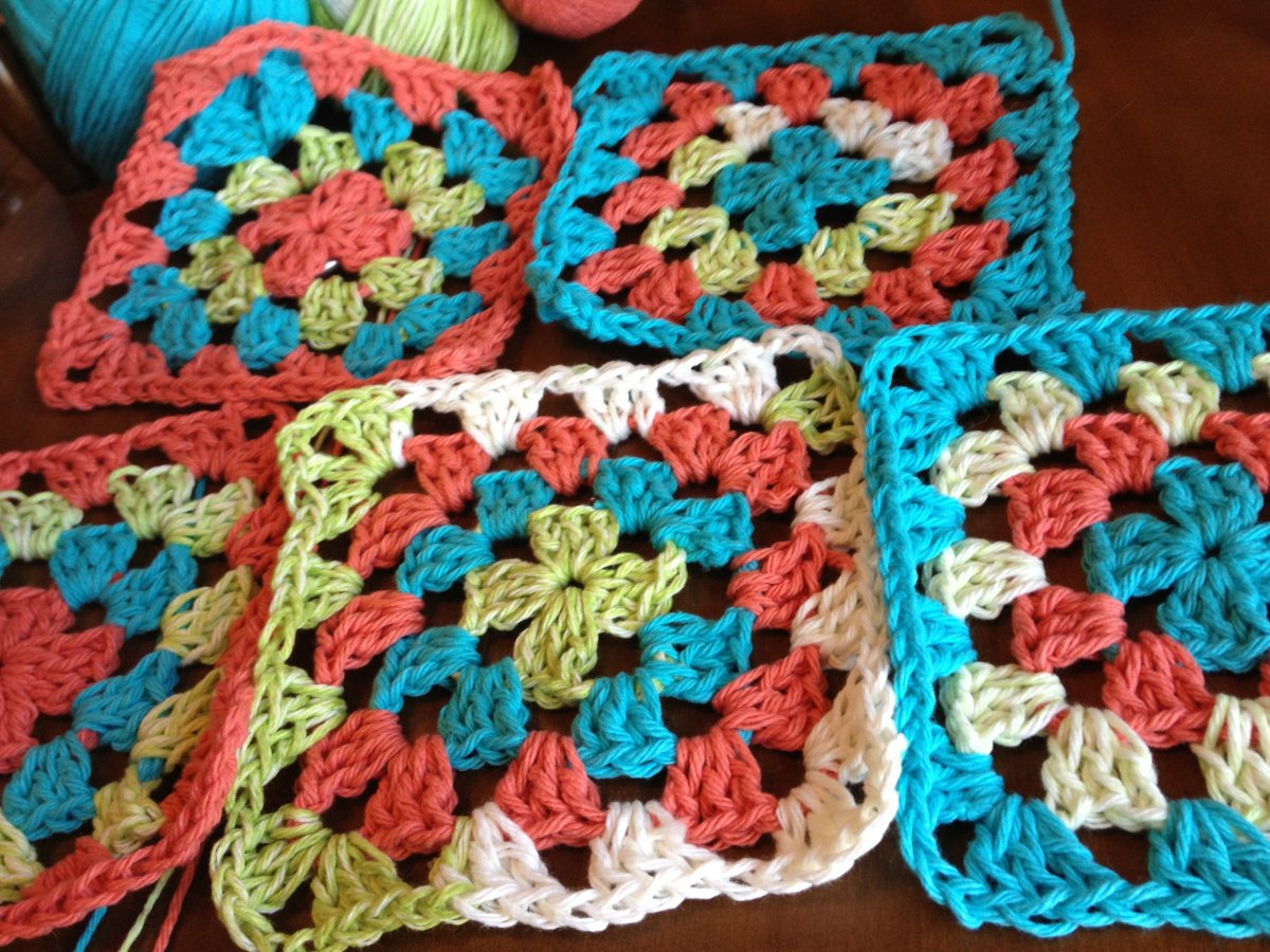 1 granny square tutorial
