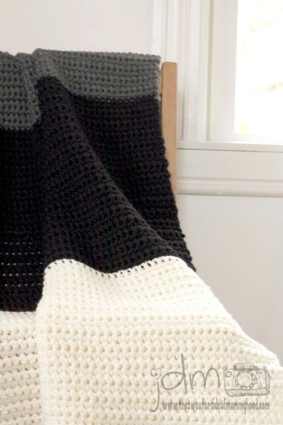 Easy Beginner Crochet Baby Blanket Tutorial : 27 BEGINNER Knitting and Crochet Tutorials