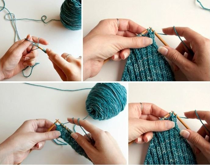 Knitting Tutorial : Beginner knitting and crochet tutorials