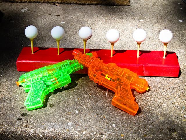 1ping pong shooting