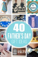 40 DIY Father's Day Gift Ideas | via Make It and Love It