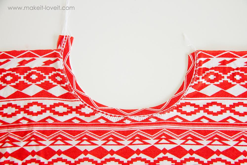 Butterfly sleeve tunic dress (7)