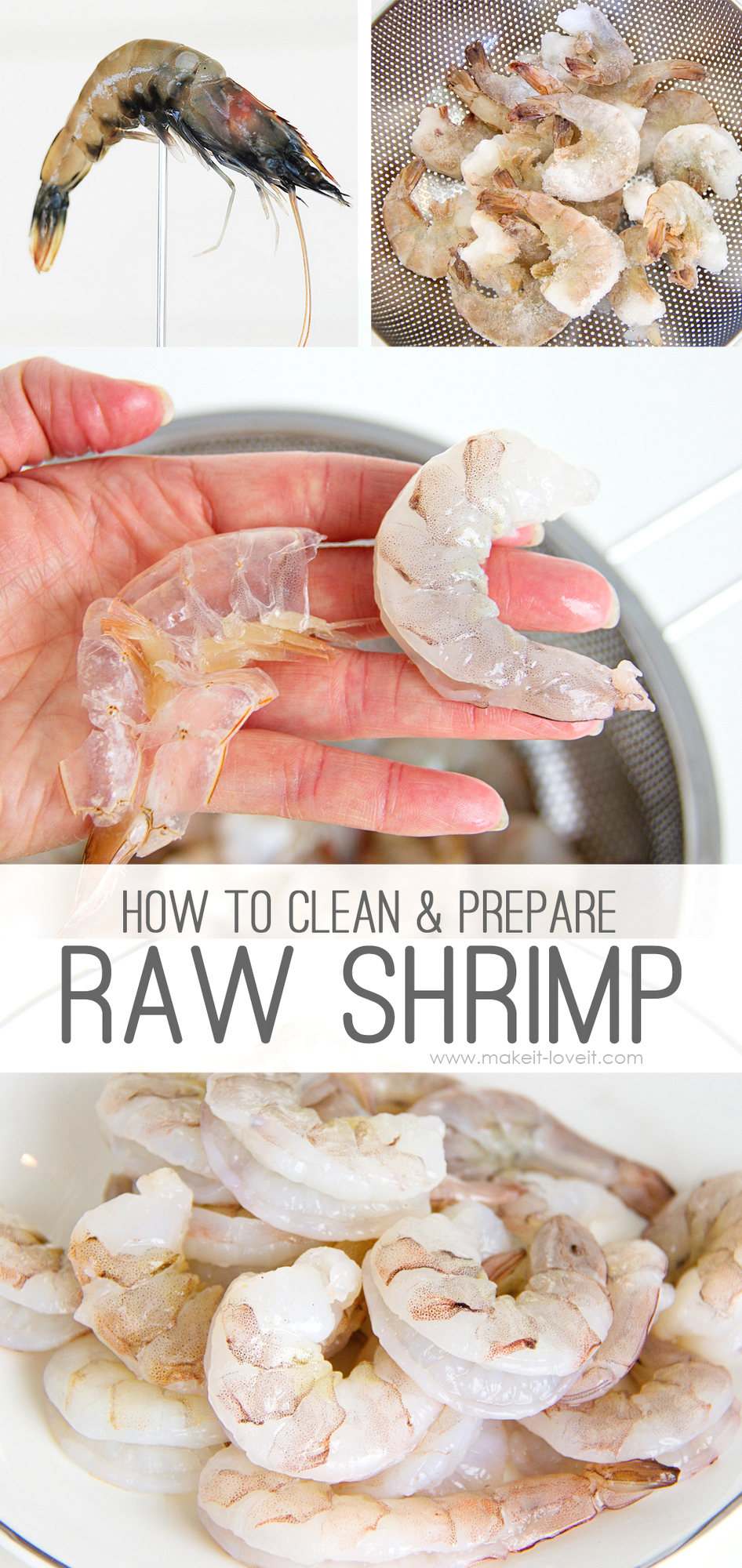 How to Clean and Prepare Raw Shrimp