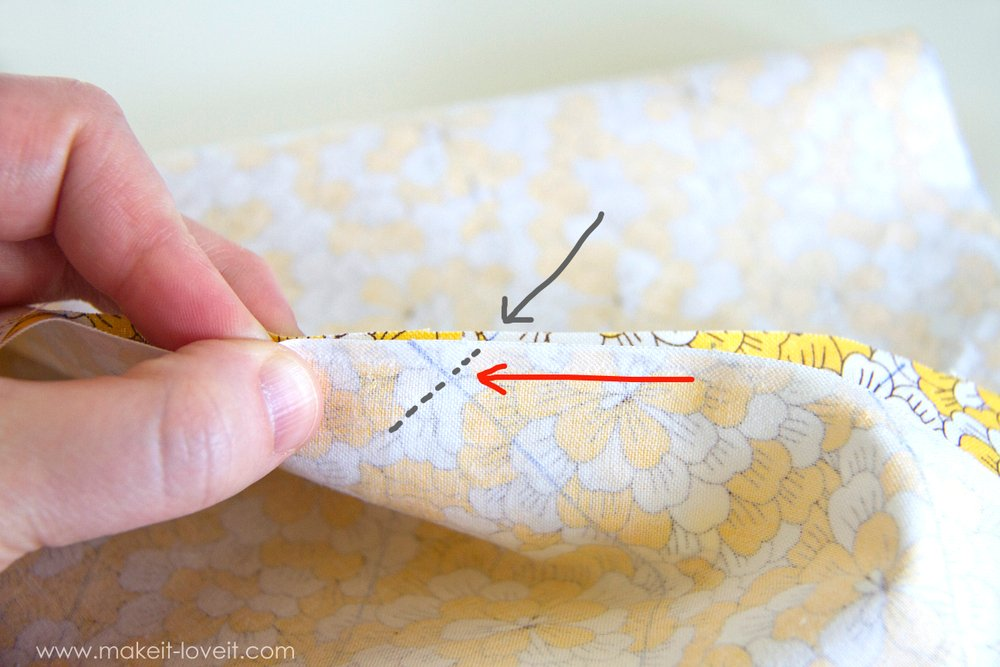 How to make one CONTINUOUS piece of BIAS TAPE 19