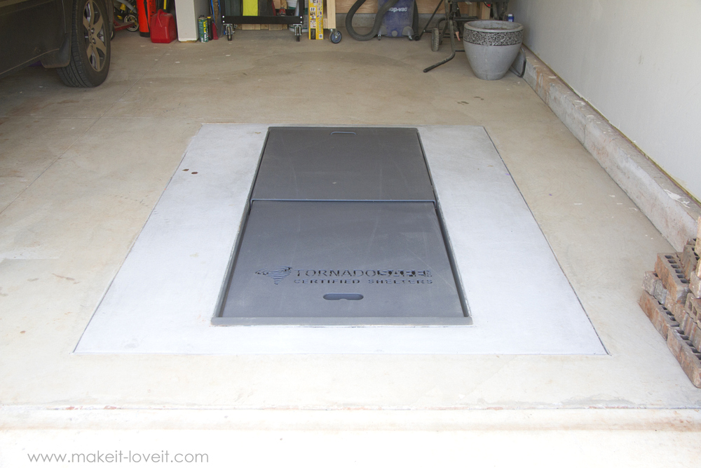 Our Tornado Storm Shelter (…for those who have been asking)