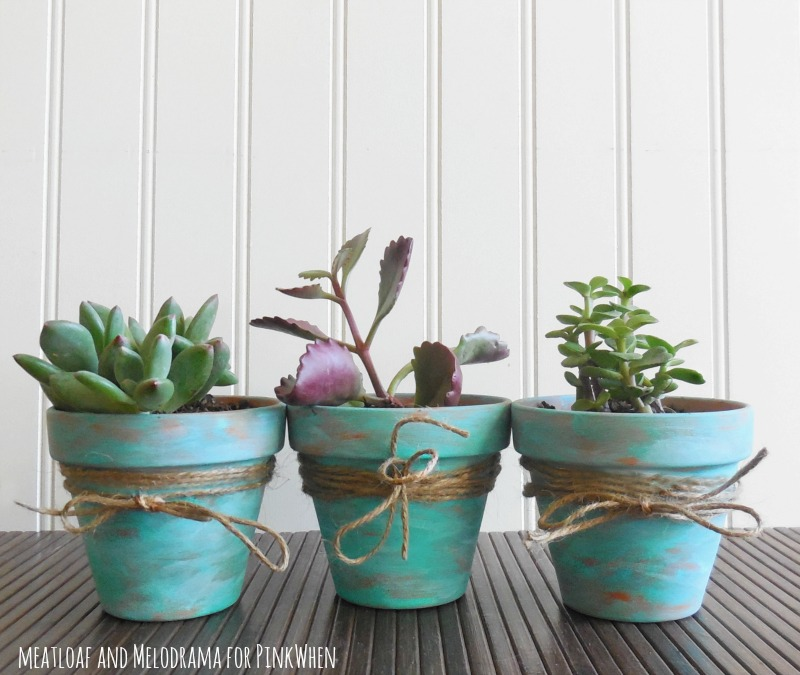 Rustic DIY Pots