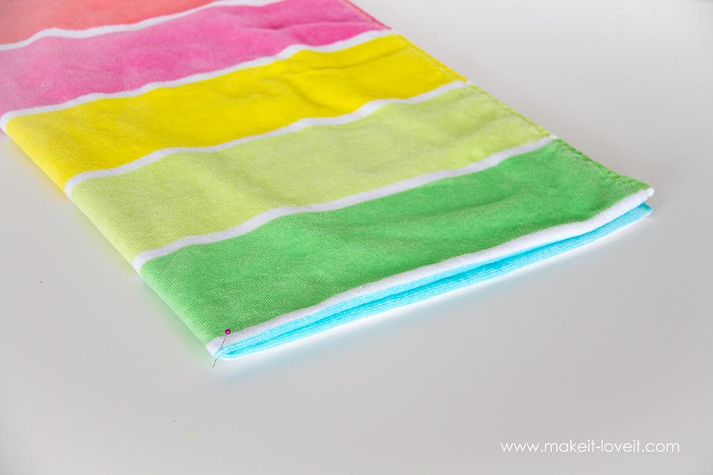 Swimming towel poncho (1)