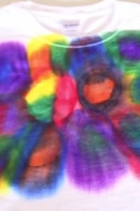 Use Science To Make A Tie Dye Shirt