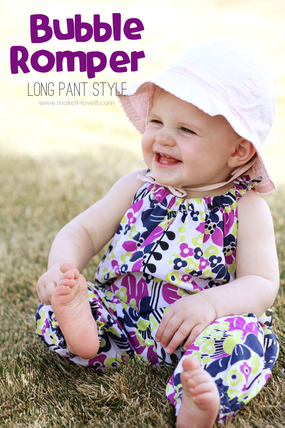 Bubble Romper for Baby: Long Pant style