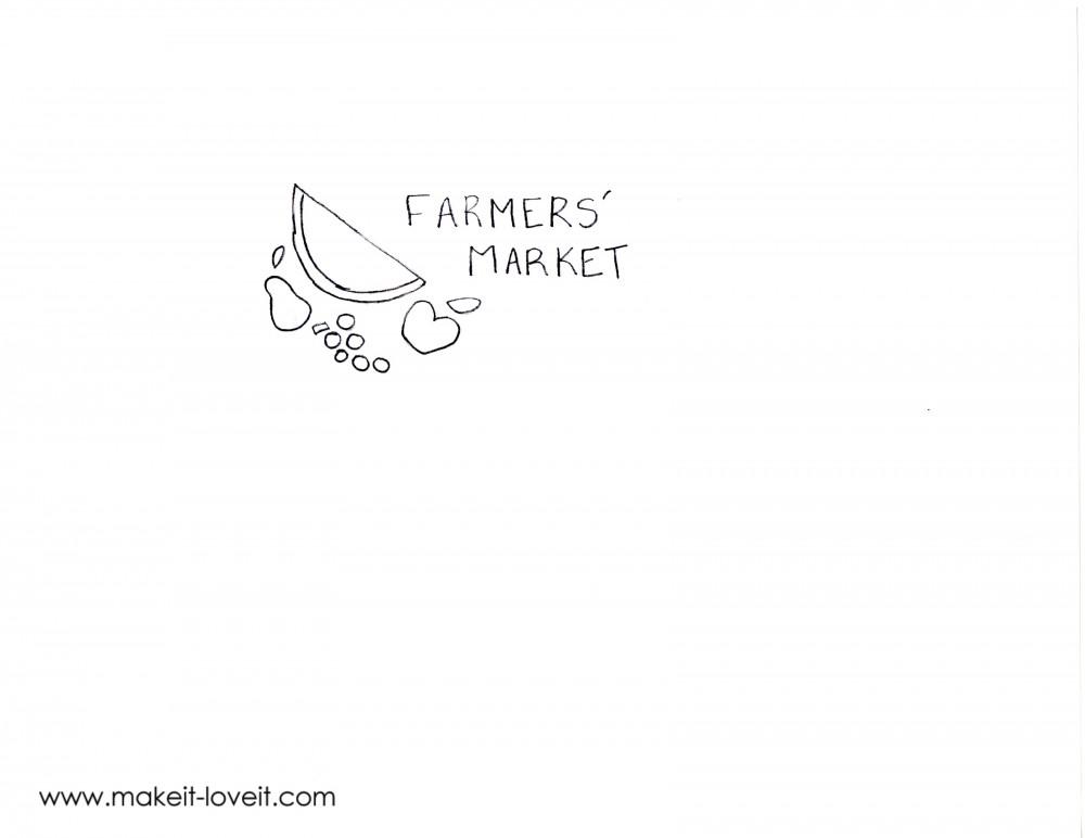 farmers market bag from an ikea rug (39)