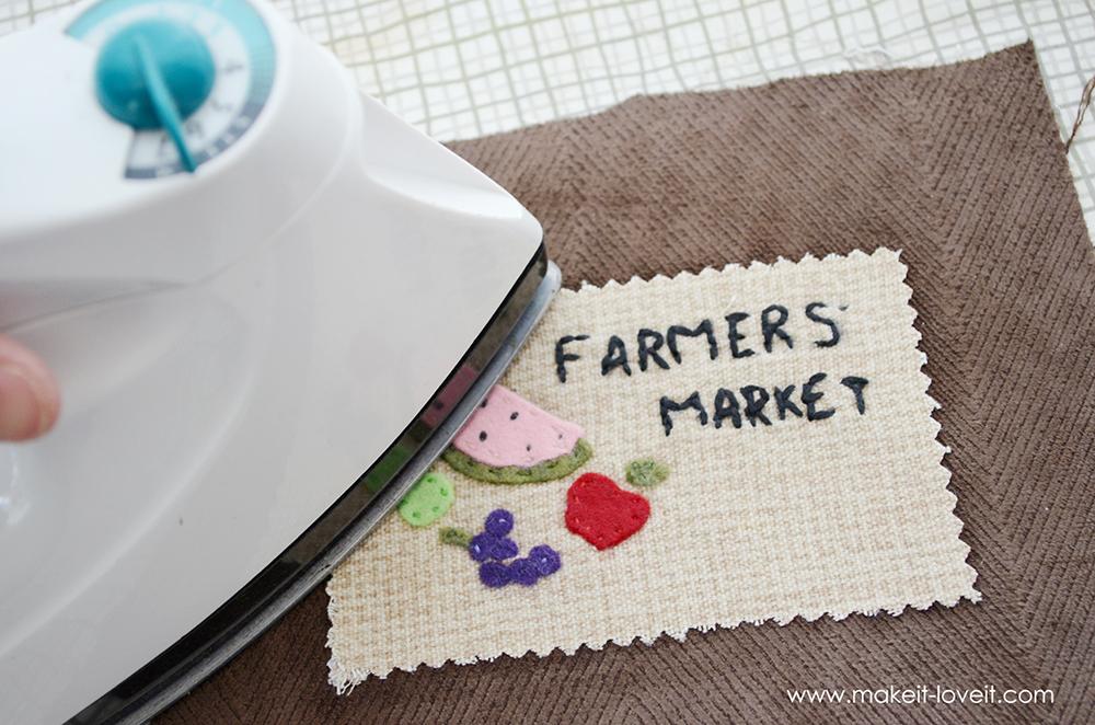 farmers market bag from an ikea rug (4)