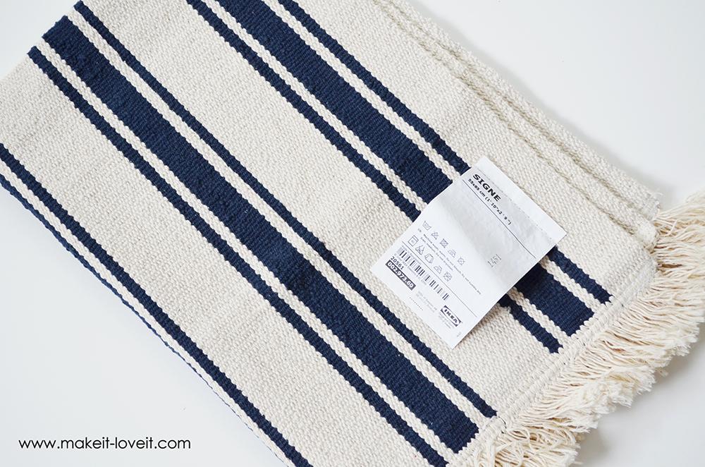 farmers market bag from an ikea rug (5)