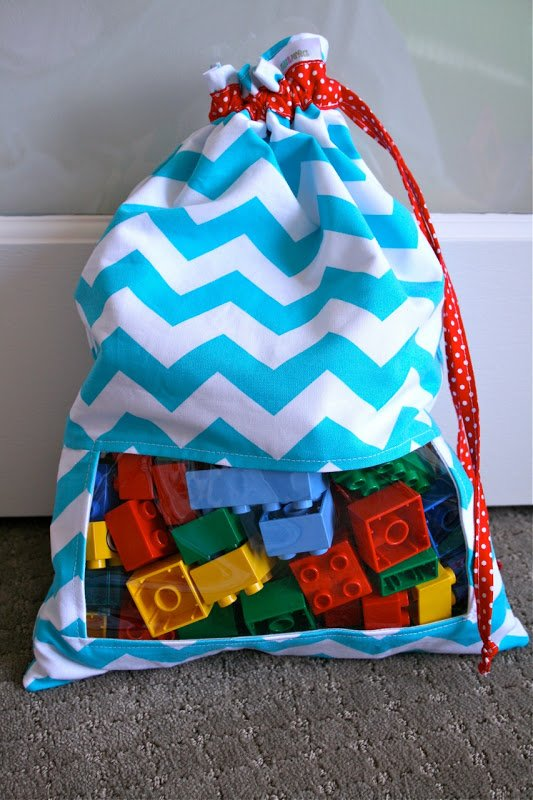DIY Toy Storage Bags