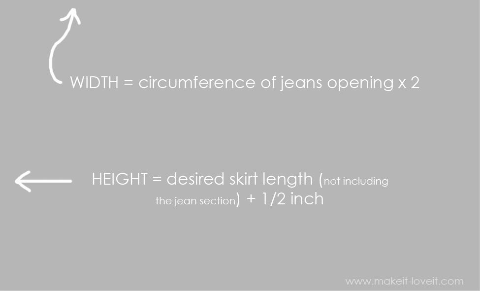 maxi skirt measurements