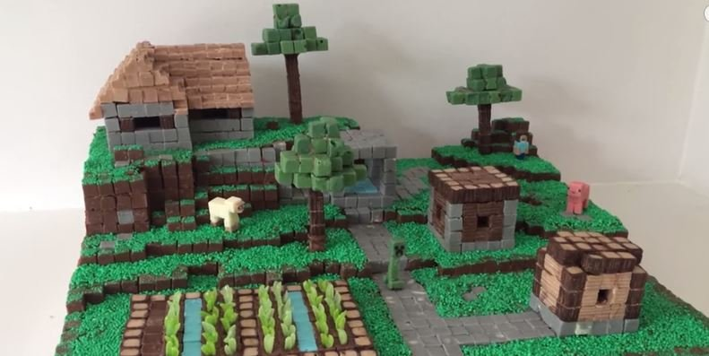 How To Make A Minecraft Cake Make It And Love It