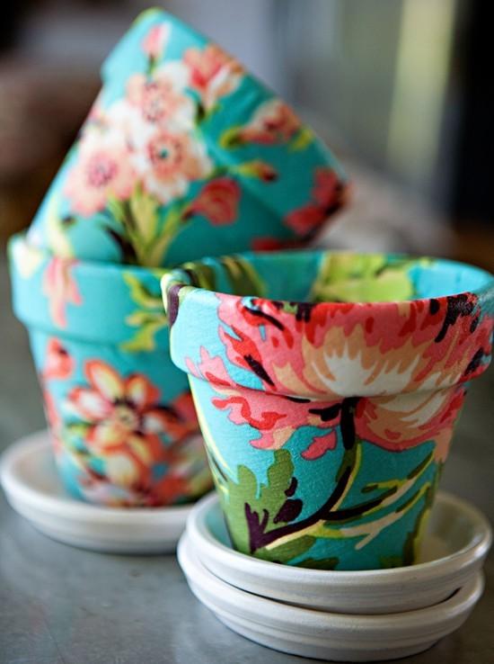 1 fabric pots