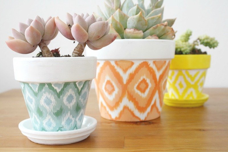 25 Diy Painted Flower Pot Ideas You 39 Ll Love