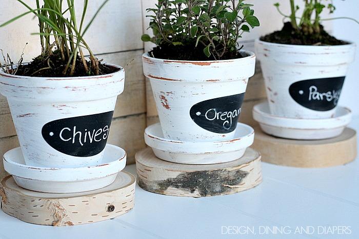 Cute Plant Pots Part - 45: 1These-DIY-herb-pots-are-so-cute-via-