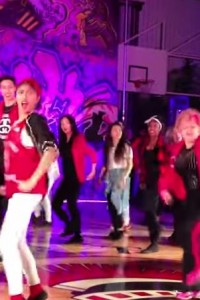 This 60 Year Old Dance Teacher Rocks The Stage!