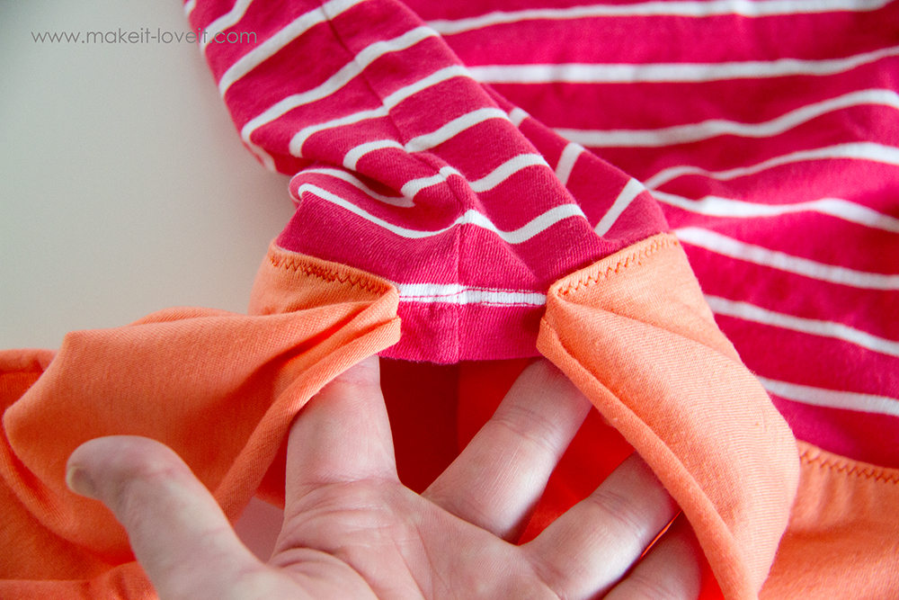 Add a Waist Sash to Shirts (great for making them longer (11)