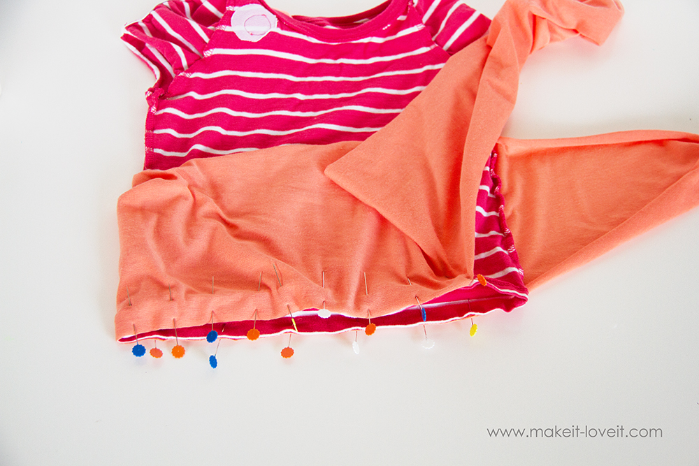 Add a Waist Sash to Shirts (great for making them longer (4)