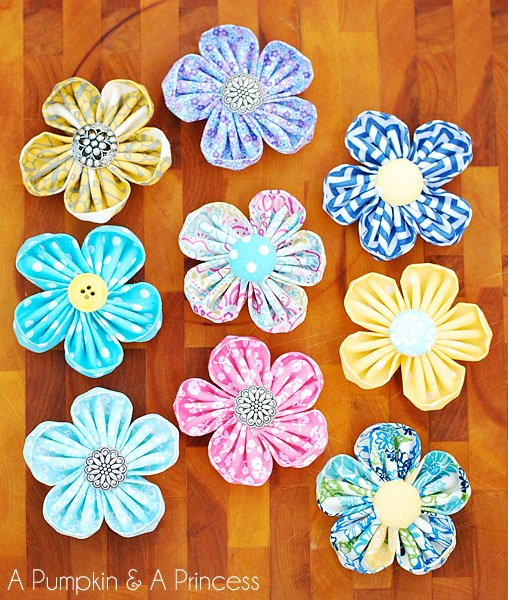 Fabric_Flower_Tutorial