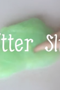 DIY Glitter Slime Recipe