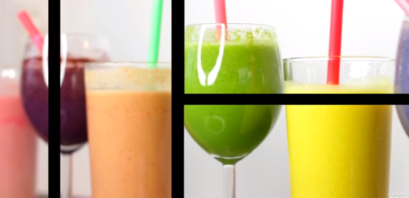6 Smoothies Recipes in 6 Minutes