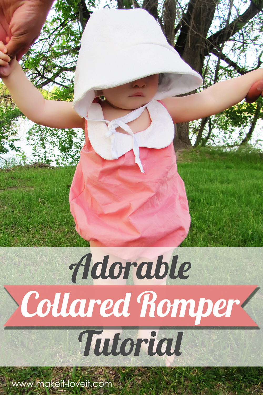Collared Baby Romper Tutorial