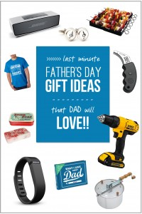 Last Minute Father's Day Gift Ideas (yes, there's still time)...that DAD will LOVE! | via Make It and Love It