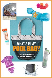 What's in my POOL BAG?? --our Must-Have Summer Products | via Make It and Love It