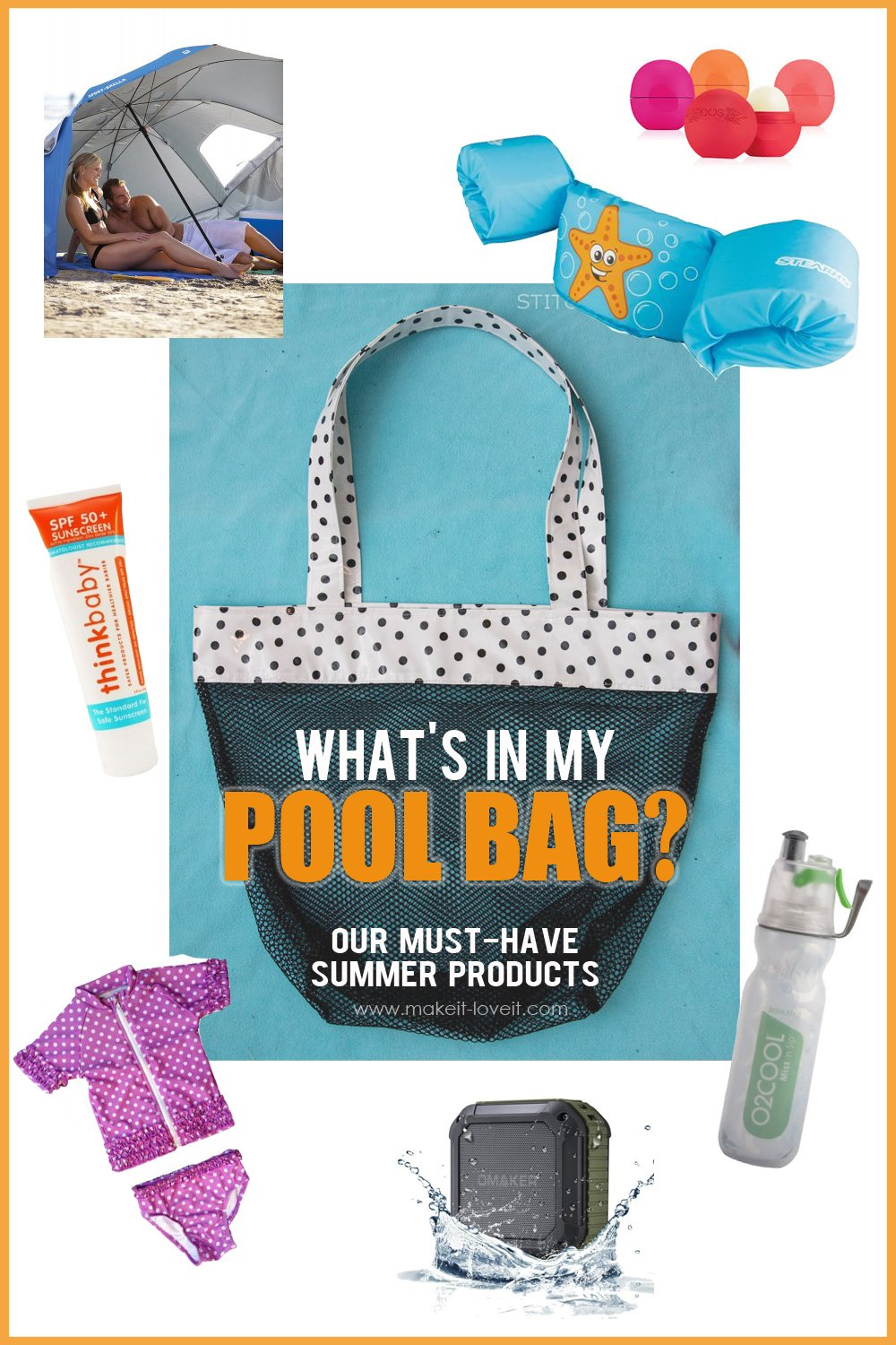 What's in my POOL BAG?? –our Must-Have Summer Products