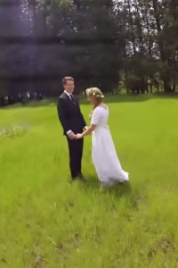 This Is A Beautiful Wedding Video
