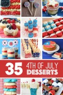 35 of THE BEST 4th of July Dessert Ideas | via Make It and Love It