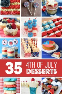 35 of THE BEST 4th of July Dessert Ideas