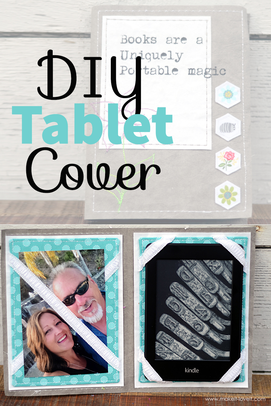 DIY Tablet/Kindle Cover
