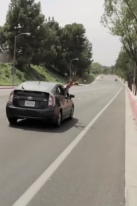 Hitch hiking done right